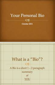 Biography Template Word Excel Pdf Formats
