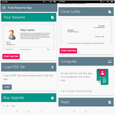 App Resume 25 Recommended Free Resume App For Android You Can Actually