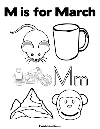 Small Picture March Coloring Pages fablesfromthefriendscom