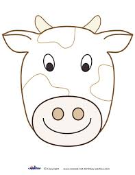 Cow Template Large Printable Cow Decoration Coolest Free Printables