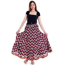 Long Skirt Patterns Classy Designer Chevron Pattern Lehenga Long Skirt At Rs 48 Pieces
