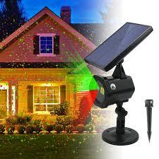 Solar Projector Christmas Lights Amazon Com Ezbnb Star Solar Laser Lights New 2018