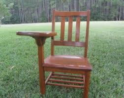 wooden school desk and chair. Vintage School Desk, Oak Child\u0027s Wood Wooden Desk And Chair O