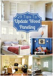how to update wood paneling 29 tips from crafters on giving your wood paneling a