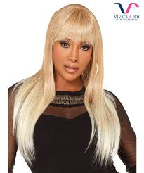 Vivica Fox Hair Color Chart Vivica Fox Full Wig Cali Futura Synthetic Stretch Cap Full Wig