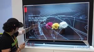 lg tv screen. lg display\u0027s 55-inch transparent tv is a prototype. lg tv screen e