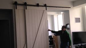 bypass barn door hardware. Bypass Barn Door System - Craig\u0027s Room. They\u0027re On The Same Track! Hardware