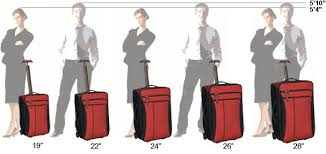 Travel Luggage Size Chart Luggage Size Guide Luggage Sizes Size Chart Chart