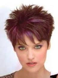 Women Short Hair Style 2 amazing elements in short spiky hairstyles for women purple 7591 by wearticles.com