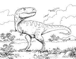 Coloriage Dinosaures Sur Ordinateur 1001 Animaux