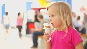 Image result for ice cream and small girls