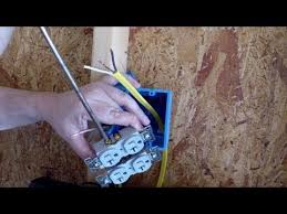 installing an electrical outlet in new construction installing an electrical outlet in new construction