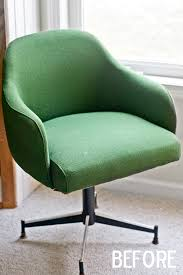 office chair reupholstery. I Found The Amazing Fabric At G Street In Rockville, MD (funny Side Note, It Is Located Underneath A Gym (we Were There Day After Christmas \u2013 So Office Chair Reupholstery O