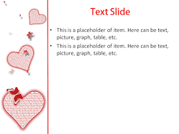 Love Power Point Background Love Heart Powerpoint Template For Impressive Presentation