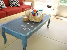 painted table ideas best of stolen idea chalkboard top coffee table