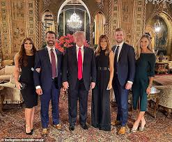 Trump Enjoys Belated Thanksgiving Dinner At Mar A Lago After