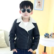 boys leather jacket with hood top quality brand designer children outerwear baby girls winter toddlers kids boys leather jacket