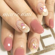 アート2本nail Salon所属marienailのネイルデザインミニモ