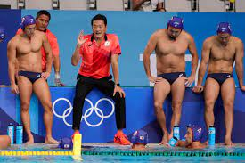 water polo style at Tokyo Olympics ...