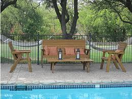 Patio Furniture Western  ThesouvlakihousecomTexas Outdoor Furniture
