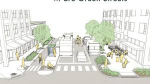 Green Streets Design Manual Greening The Streetscape Complete Streets Stormwater