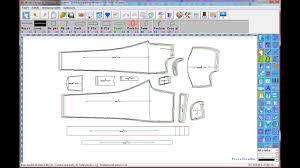 Cad Cam Computer Pattern Designing Pant Pattern Tutorial Mens Pant Design Winda Cad For Pattern Design Winda Cad Part 01
