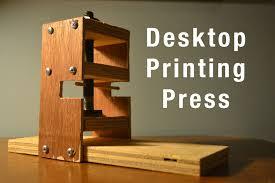 introduction desktop printing press
