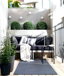 modern balcony furniture. Small Balcony Furniture Ideas Modern Decor With Cute Little Shrubs Backyard O
