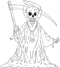 Small Picture Scary Coloring Pages Best Coloring Pages For Kids
