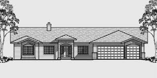 4 Bedroom House Plans House Plans With Master Suite 3 Car