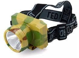 Giảm giá) Đèn pin đội đầu 1 bóng giá rẻ - Đèn pin đội đầu siêu sáng -