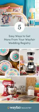 9 best wayfair wedding registry images on pinterest wedding Wedding Essentials Tamworth 5 essential tips for setting up a wayfair wedding registry Wedding Essentials List