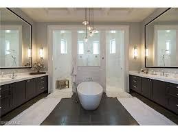 large master bathroom plans. 707 Fountainhead Lane, Naples, FL 34103 | Luxurious Master Bathroom With Soaking Tub And Large Plans