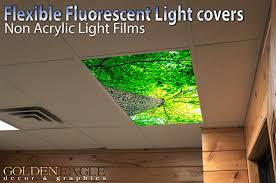 lush forest canopy 2ft x 4ft drop ceiling fluorescent decorative ceiling light cover skylight