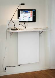 Small standing desk.