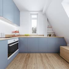 Attic Kitchen Beautiful Attic Apartment With Clever Design Features