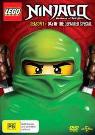 LEGO Ninjago - Masters of Spinjitzu: Season 1 | Inc Day Of The Departed  Special, DVD