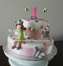 Cool Homemade Fairy Cake