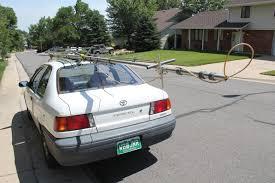antennas by roger j wendell wb jnr wb0jnr bringing home a gap titan on top my car 07 16 2011