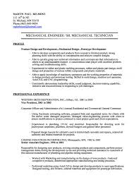 doc resume sample of mechanical engineer fresher mechanical engineer resume