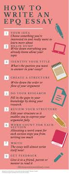 how to write an epq essay 1 your idea