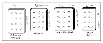 Mattress Size Comparison Chart King Bed Size Ofsadodemis Org