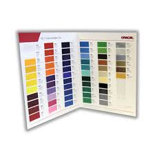 Oracal 651 Color Chart Oracal 651 Vinyl Color Sample Brochure