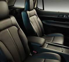 2018 lincoln seats. brilliant 2018 heated and cooled secondrow bucket seats in charcoal black for the 2018  lincoln mkt inside lincoln