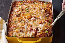 ground beef and rice recipes. Plain Beef Mexican Beef U0026 Rice Casserole Recipe Image With Ground And Recipes S