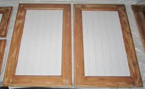 refacing cabinet doors with beadboard mf cabinets