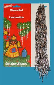 Lametta Schmale Glitzernden Gold Oder Silberfarbenem