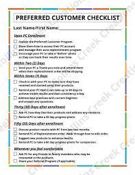 Rodan And Fields Pricing Chart 2018 Rodan And Fields Preferred Customer Checklist Instant