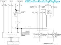 07 nissan sentra wiring diagram wirdig illustrates the 2007 nissan murano xenon headlamp wiring diagram