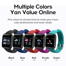 <b>Good</b>-<b>Value</b> Colorful <b>116 Plus</b> Smart Watch Wristband Sports ...